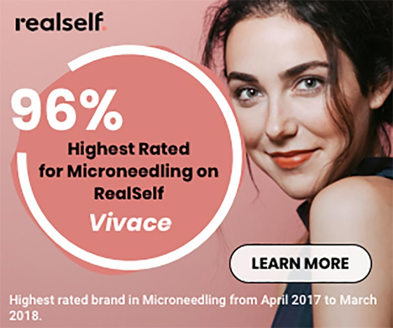 VIvace - 96% Highest Rated for Microneedling on RealSelf